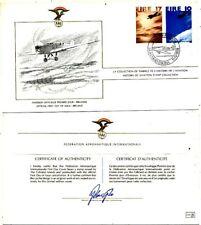 TIMBRE STAMP 1 FDC AVION HISTOIRE AVIATION FEDERATION AERONAUTIQUE IRLANDE