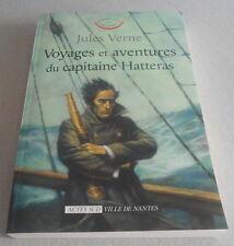 JULES VERNE / AVENTURES DU CAPITAINE HATTERAS ..Actes Sud Ville de Nantes