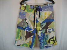 Youth Nike Poly Aloha Island Hawaii Board Shorts sz 20 x 11