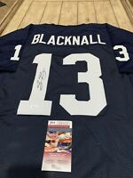 Saeed Blacknall Autographed/Signed Jersey Penn State St Nittany Lions