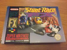 SNES Stunt Race FX CIB Free Uk Postage