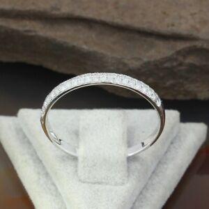 Wert 890 € Brillant Halbmemory Ring (0,20 carat) in 750er 18 K Weißgold Größe 56