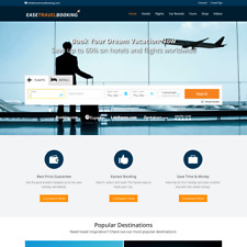 Automated Travel Affiliate Website - Hotels - Flights - Cars Search