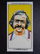 LE SOLEIL soccercards 1978-79 - TERRY COOPER - ANGLETERRE #35
