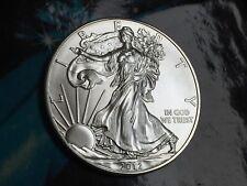 2012 American Silver Eagle, one ounce 99.99% pure silver bullion, BU