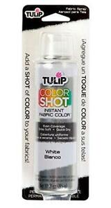 Tulip ColorShot Instant Fabric Color 3oz. White