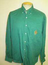 Ralph Lauren POLO men's Green Long Sleeve Casual Shirt  Size L 42-46 Euro 52-54