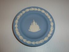 "Wedgwood Blue Jasperware Pin Dish, ""St. Paul's Cathedral"""