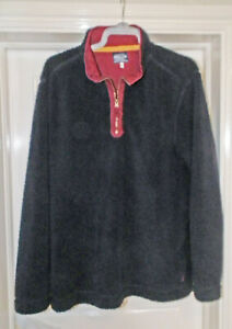 JOULES CHUNKY PULLOVER FLEECE TOP -  SIZE  XXL