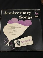 33 RPM LP Record Ken Griffin Anniversary Songs Columbia Records CL 586