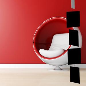 MODcast Black Mobile | Mid Century Modern Kinetic Art Mobiles + Room Dividers