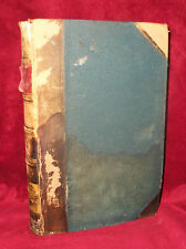 JOURNAL OF DISCOURSES V 16 & 17 1874 1875 Mormon Book LDS Brigham Young LEATHER