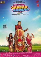 FER MAMLA GADBAD GADBAD - BOLLYWOOD PUNJABI DVD - FREE POST
