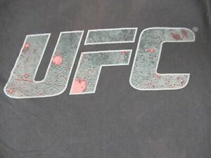 UFC ULTIMATE FIGHTING CHAMPIONSHIPS - BLACK MEDIUM T-SHIRT D944
