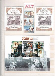 Briefmarken Polen 2002 Jahrgang  Komplett postfrisch