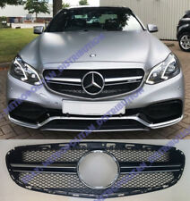 Mercedes E,w212/s212,LCI 2013+,saloon/estate.AMG E63 grill,black+chrome one-fin,