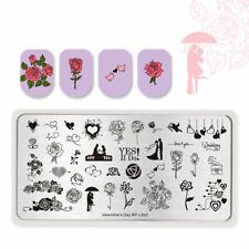 BORN PRETTY  Kunst Nagel Stempel Schablone Nail Art Stamp Happy Wedding
