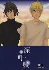 NARUTO YAOI Doujinshi ( Naruto x Sasuke ) Shinkokyuu, Otsukare!