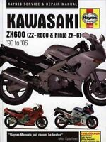 Haynes 2146 Manual for Kawasaki ZX600 (ZZ-R600 & Ninja ZX-6)
