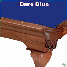 8' Euro Blue ProLine Classic Billiard Pool Table Cloth Felt - SHIPS FAST!