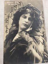 Geraldine Farrar vintage diva photo , beautiful woman,La Travanti 1906