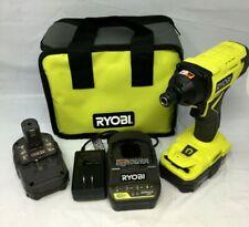 """Ryobi P235AK 18v One+ Cordless 1/4"""" Impact Driver Kit, N"""