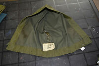 Used Canadian army hood for green rainsuit size 8 long/medium (ref#h1bte#140)