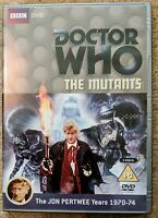 Doctor Who The Mutants DVD (Two Disc Set) Signed by Katy Manning