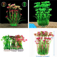 15.5''  Artificial Simulation Water Plants Aquarium Plant Grass Fish Tank Decor