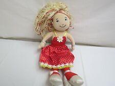 Groovy Girls Doll Polka Dot Dress Pocketbook Necklace Plush Stuffed Animal