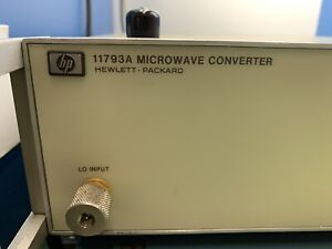 HP / Agilent 11793A Microwave Downconverter for use with 8902A 8902S