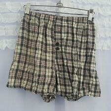 Plaid PJ Shorts No Tags with Pull Defect Kids