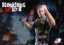 1:6 Scale ZC Toys Resident Evil Chris  Action Figure Model Toy Collectible
