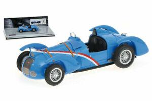 1/43 Minichamps Delahaye Type 145 V12 Bleu Grand Prix 1937 Livraison Domicile