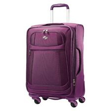 "American Tourister 21"" DeLite 2.0 Carry On Spinner Luggage - Violet 049845195175"