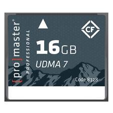 Promaster Compact Flash 16GB RUGGED Memory Card 1066X UDMA7 #8328