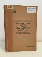 Précis d'Anatomie Dr.Oberlin J.B Baillière 1947