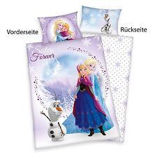 Herding Disney Eiskönigin Frozen Olaf  Bettwäsche  40 x 60 cm + 100 x 135 cm