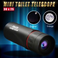 30X25 Outdoor HD Night Vision Waterproof Monocular Telescope 10x Optical Zoom LN