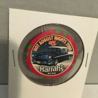 2000 HOT AUGUST NiGHTS RENO,NV. HARRAH'S CASINO $5.00  CHIP.