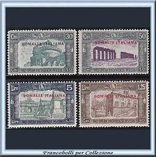 Colonie Italiane 1930 Somalia Milizia IIIa n. 140/143 Nuovi Integri **