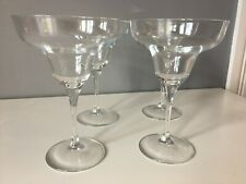 4 x Margarita Glasses - Good Condition