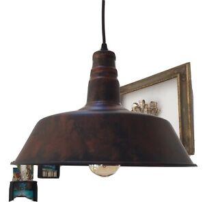 Moderne Lampe Günstig Retro vintage design Industrie Stil loft Hängelampe