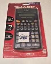 Sharp Scientific Calculator EL-501WBBL