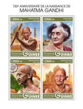Guinee 2019 Mahatma Gandhi 150th Aniv Taj Mahal S/S Gu190305