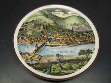 Vintage Heidelberg Plate, Reutter Porzellan, Made in West Germany (1001g)
