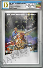 2018 STAR WARS: EMPIRE STRIKES BACK SILVER FOIL - CGC 10 GEM MINT FIRST RELEASE