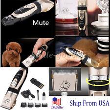 Professional Mute Set Pet Cat Dog Fur Hair Cordless Clipper/Trimmer//Shaver Kit