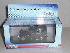 Vanguards,VA01124 MORRIS MINOR VAN, CARDIFF CITY POLICE DOG SECTION DAMAGED CASE
