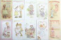 Vintage English Cards Ltd 10 SARAH KAY GREETING CARDS Boxed Set
